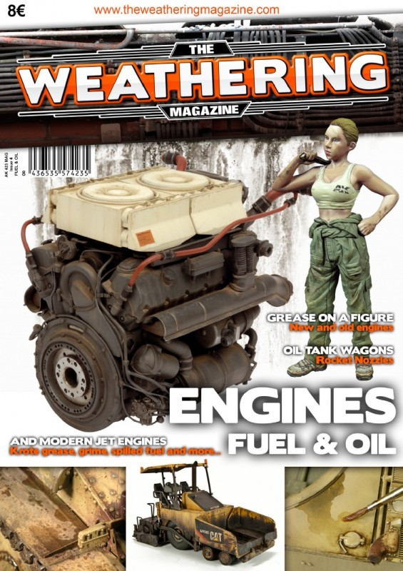 Weathering Magazine Issue #4: Engines, Fuel & Oil Effects