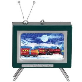 Musical Tv Ornament