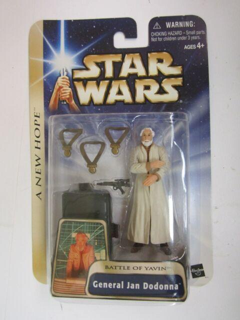 "Hasbro Star Wars Saga A New Hope Dutch Vander Gold Leader BATTLE 3.75/"" figure"